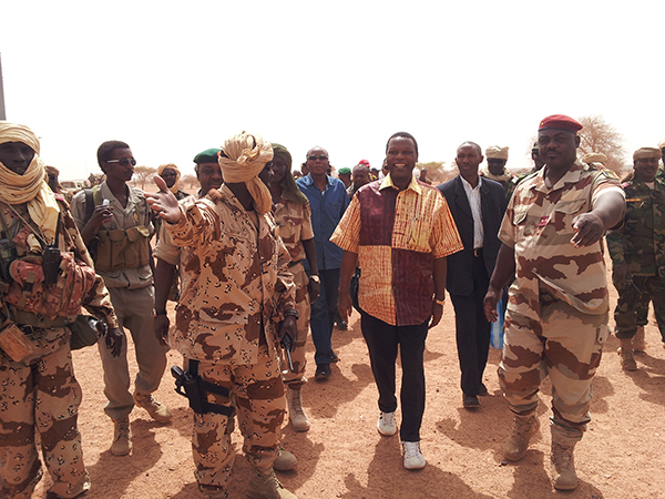 AFISMA Head of Mission visits Northern Mali town of Kidal