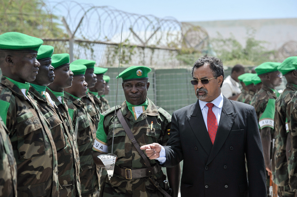AU Special Representative presides over the handover ceremony of AMISOM Military Command