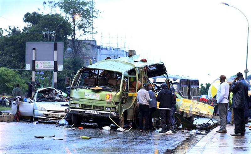 The African Union strongly condemns the  terrorist attack in Nairobi