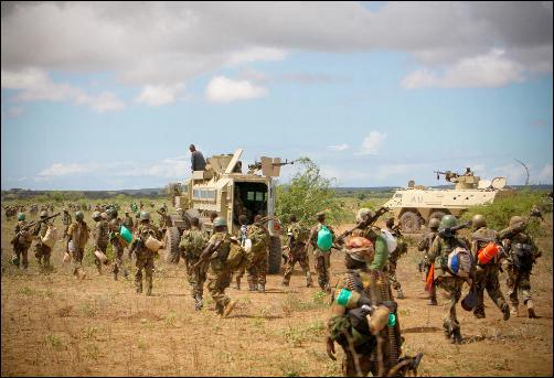 Somali, AMISOM forces on the outskirts of Kismayo