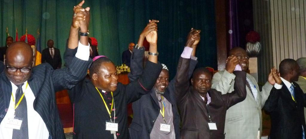 Cease Fire Agreement signed at the end of Brazzaville Forum for National Reconciliation in Central African Republic