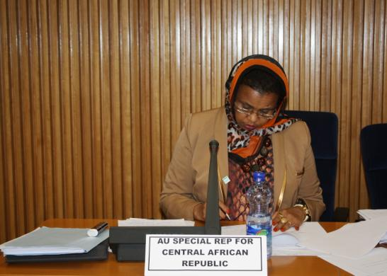 Ambassador Hawa Ahmed Youssouf - Special Representative of the Chairperson of the AU in Central African Republic