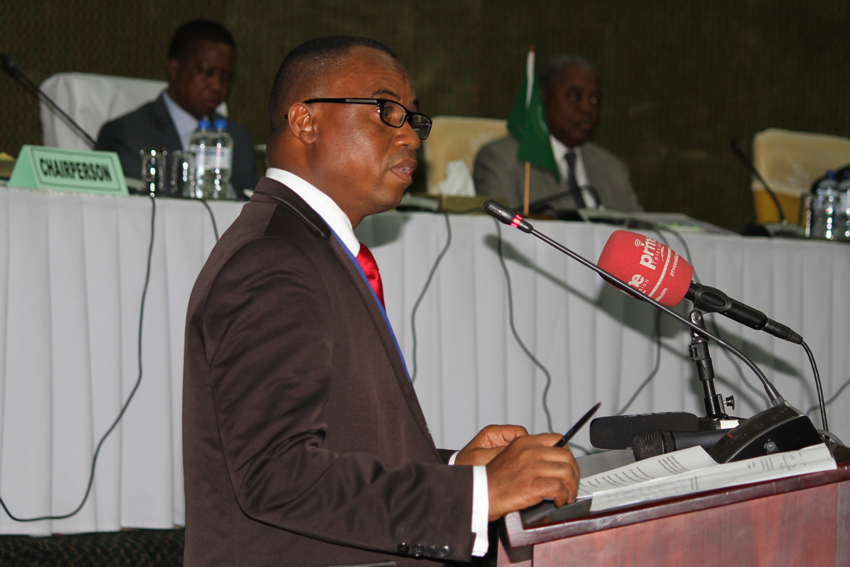 Chairperson of the AU PSC Retreat, H.E. Ambassador Osman Kamara of Sierra Leone