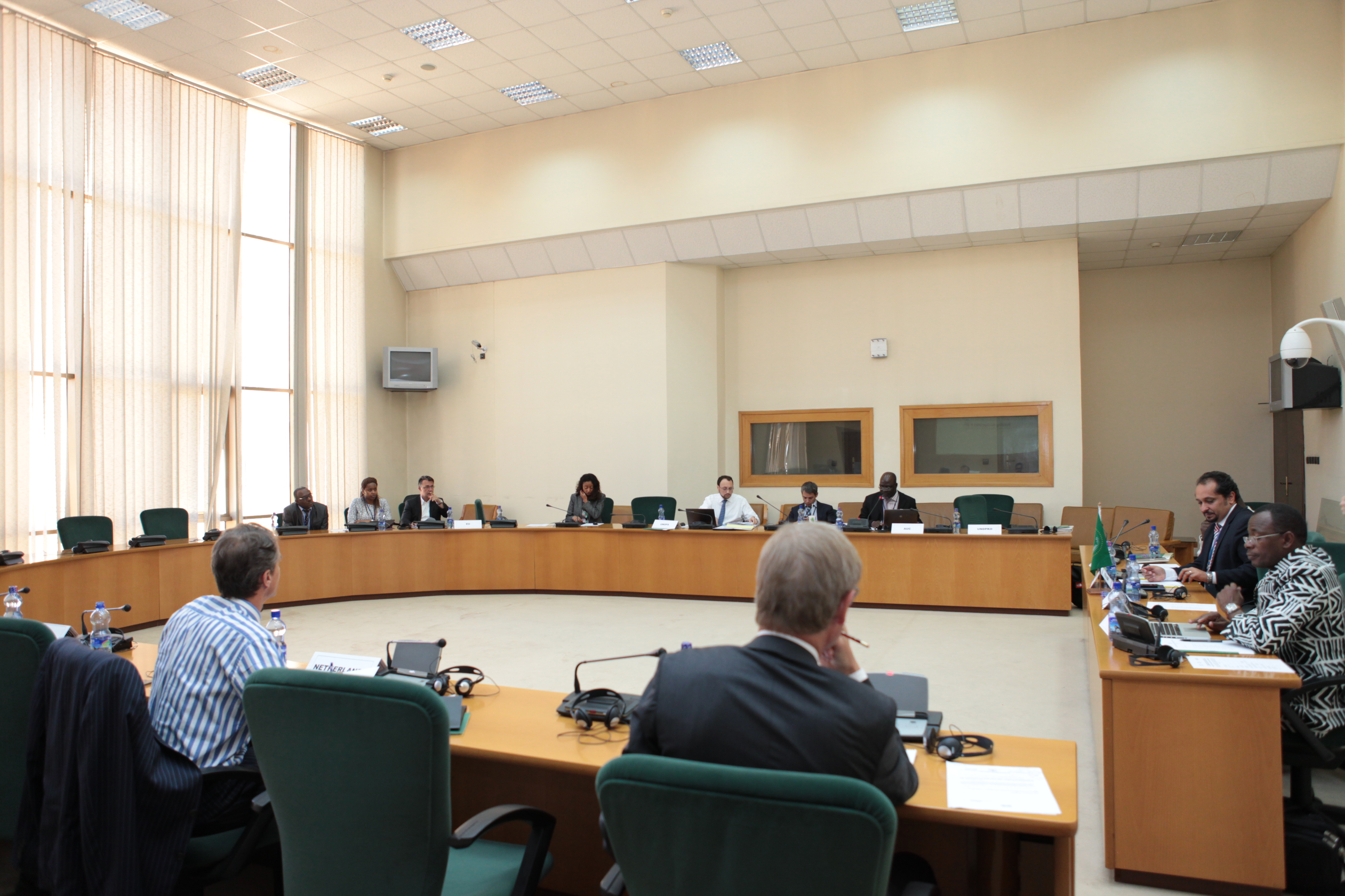 AUC hosts the 2nd Steering Committee Meeting to strengthen the AU Capacity for Security Sector Reform (SSR)