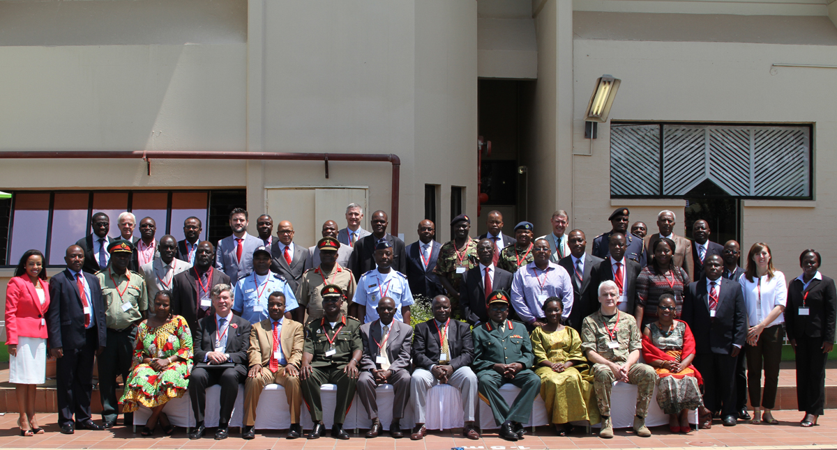 Strategic Headquarters Training Session of the AMANI AFRICA II Field Training Exercise Opens in Harare