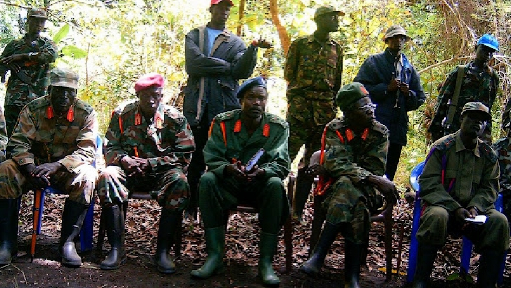 The African Union-led Regional Task Force captures a commander of The Lord's Resistance Army (LRA) In the Central African Republic