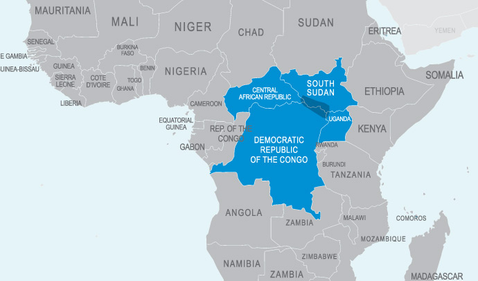 Democratic Republic of Congo hands over 500 strong contingent to the