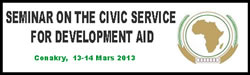 Seminar on the Civic Service for Development Aid