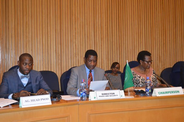 "Communique of the 775th PSC meeting on the theme: ""The Principles on Protection of Civilians in Conflict areas in Africa"""