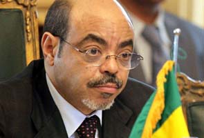 The late Prime Minister of Ethiopia, Meles Zenawi