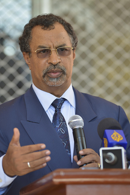 Amb. Mahamat Saleh Annadif- Special Representative of the Chairperson of the African Union Commission (SRCC) for Somalia