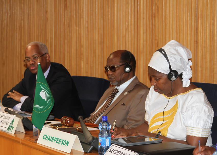 A view of the Panel during AUPSC meeting om Western Sahara