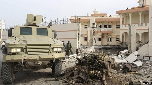 AMISOM Condemns Suicide Car Bomb Attack on the SYL Hotel in Mogadishu