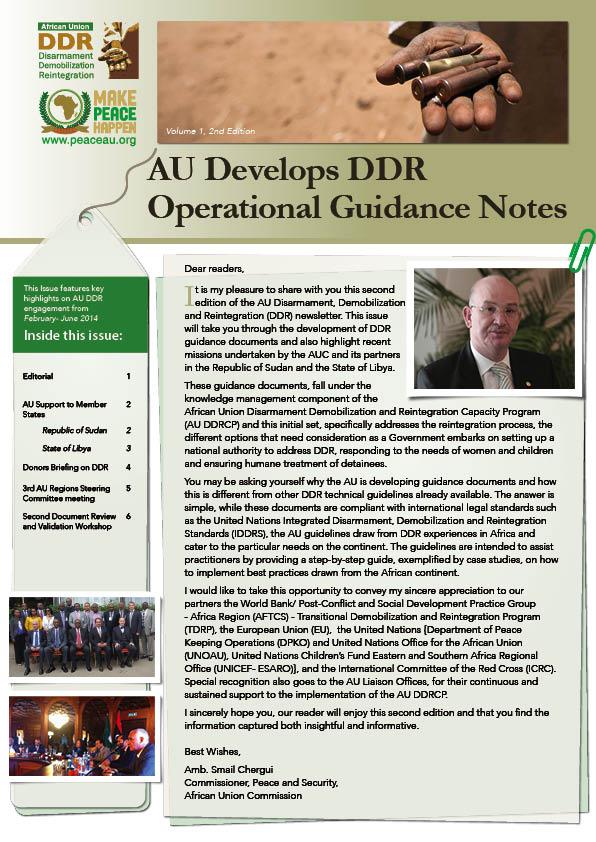 AU DDR Newsletter, Volume 1, 2nd Edition