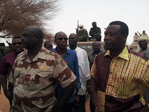 AFISMA Head of Mission visits Northern Mali town of Kidal
