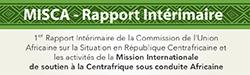 1er Rapport Intérimaire de la Commission de l'Union Africaine sur la situation en République Centrafricaine et les activités de la Mission Internationale de Soutien à la Centrafrique sous conduite Africaine