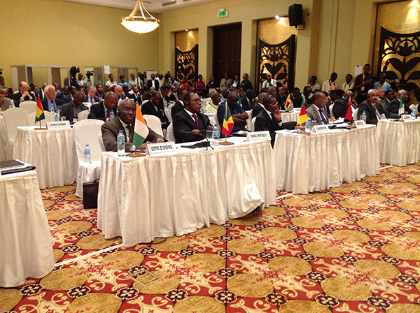 368th PSC Meeting at the Ministerial Level, Dar-es-Salaam April 22