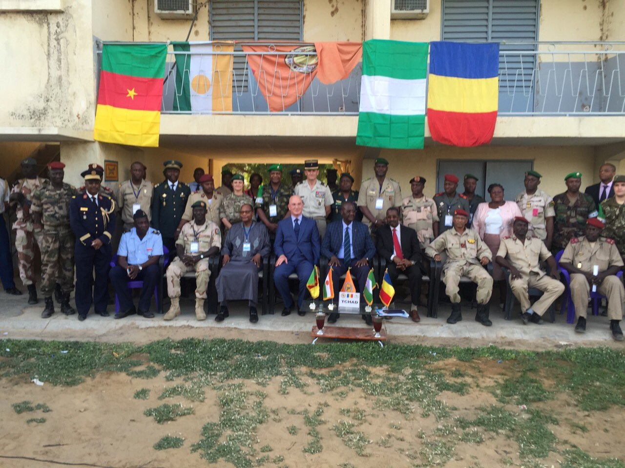 Inauguration of the Headquarters of the Multinational Joint Task Force against the Boko Haram Terrorist Group