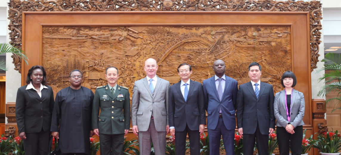 Comm Chergui concludes visit to China 28-29Oct2014