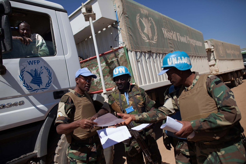 The African Union Strongly condemns the attack on UNAMID peacekeepers in Darfur, Sudan