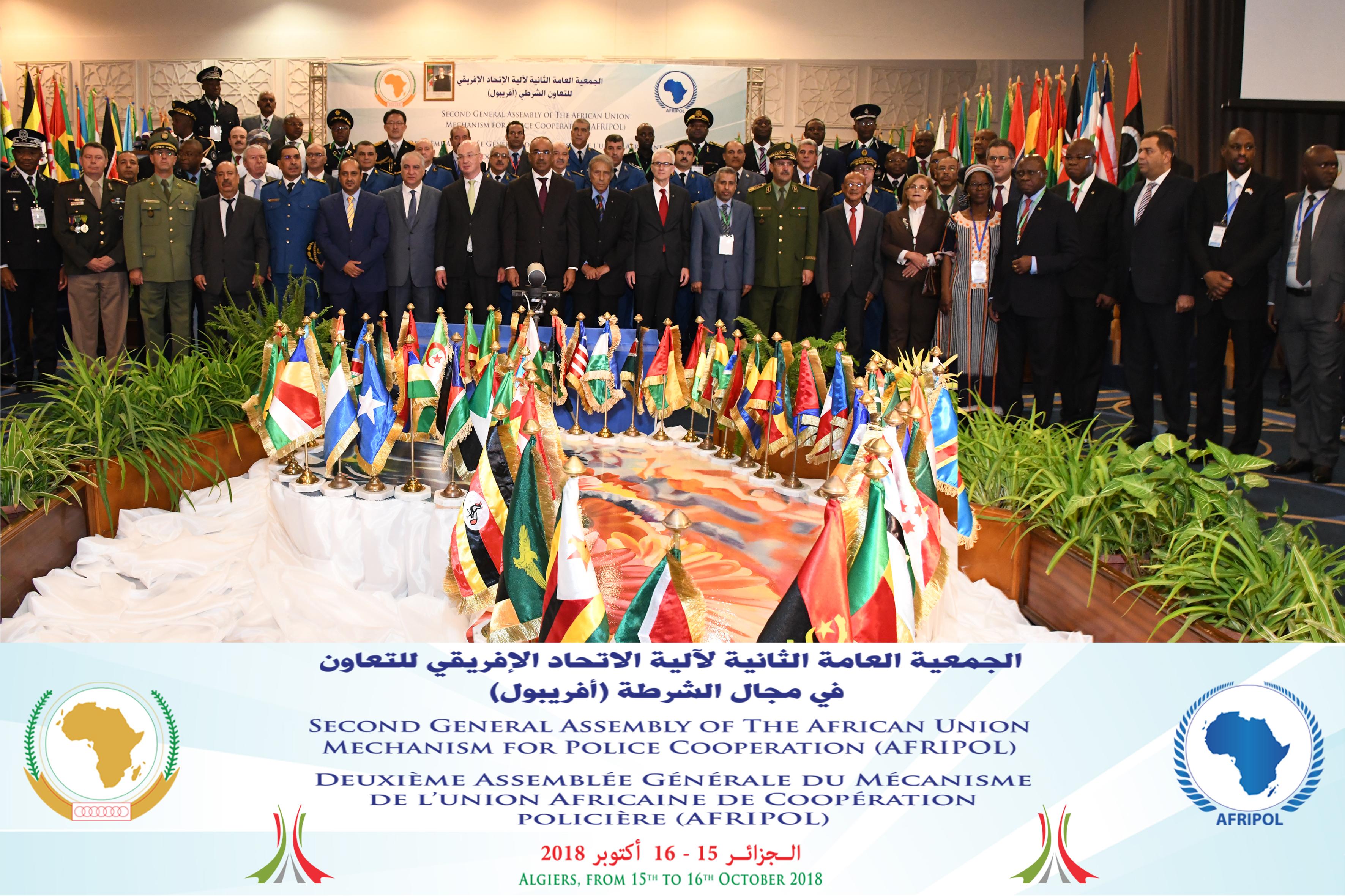 Discours de cloture de s.e l'ambassadeur Smaïl Chergui, Commissaire à la paix et à la sécurité - Seconde assemblée générale du mécanisme de l'Union Africaine pour la coopération policière (AFRIPOL)