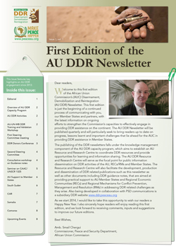1st Edition of the DDR Newsletter