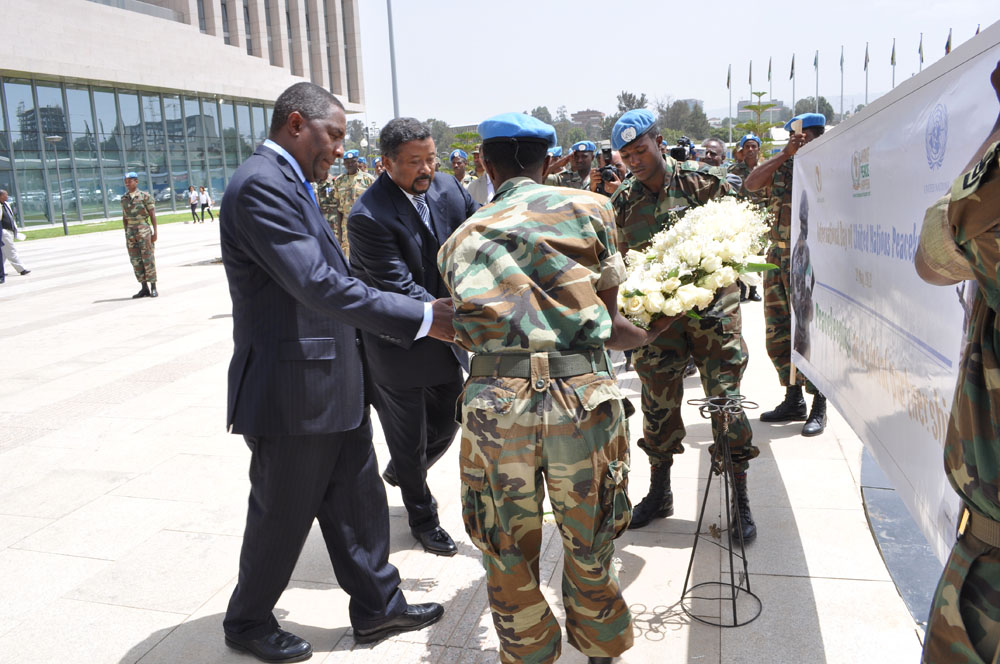 AU and UN observe international peacekeepers day