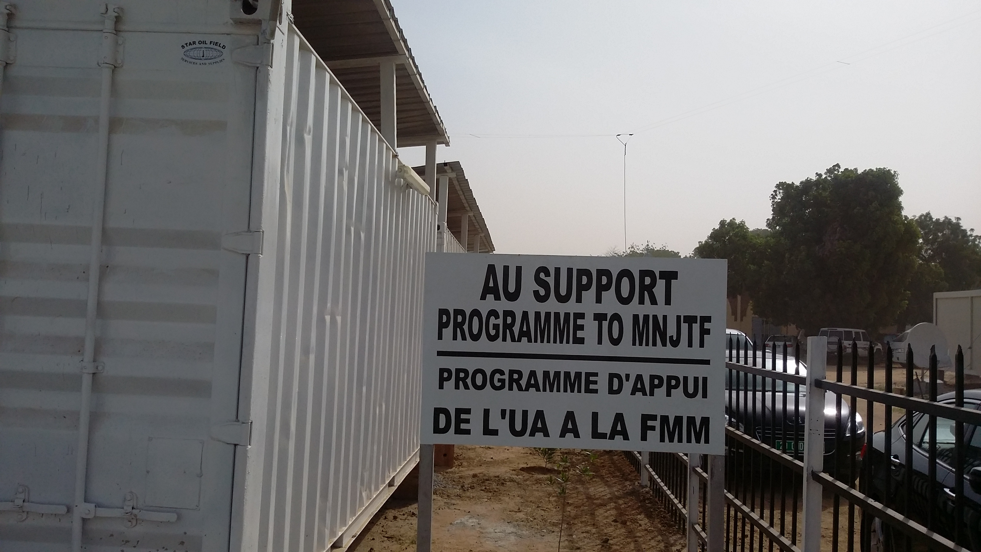 The African Union Commissioner for Peace and Security met the Council of Ministers of the Lake Chad Basin Commission at the Headquarters of Multinational Joint Task Force and handed over AU additional support to the Multinational Joint Task Force in N'djamena, Chad
