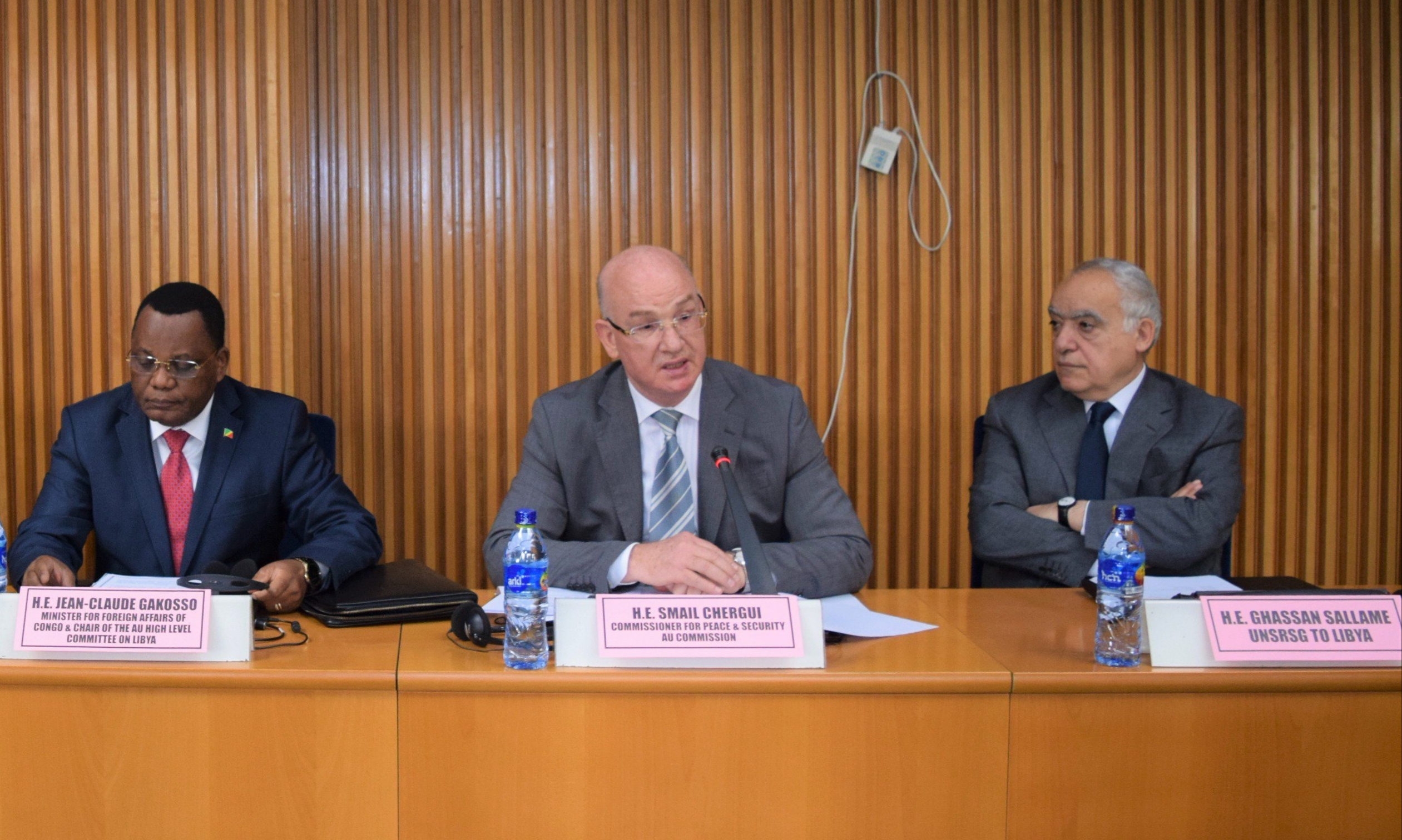 Closing remarks by Ambassador Smail Chergui, Commissioner for Peace and Security, on the occasion of the fifth meeting of the AU High Level Committee on Libya
