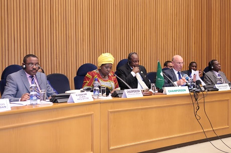Report of the Chairperson of the Commission on Regional and International efforts to combat the Boko Haram terrorist group and the way forward