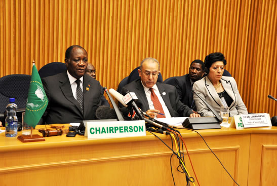 The Peace and Security Council of the African Union (AU), at  its 327th meeting held on 14  July 2012, adopted  the  following decision on  the situation between  the Republic of Sudan and the Republic of South Sudan