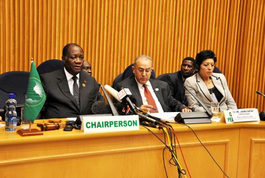 Le  Conseil  de  paix  et  de  sécurité  de  l'Union  africaine  (UA),  en  sa  327ème réunion tenue le 14 juillet 2012, a adopté la décision qui suit sur la situation entre la République du Soudan et la République du Soudan du Sud