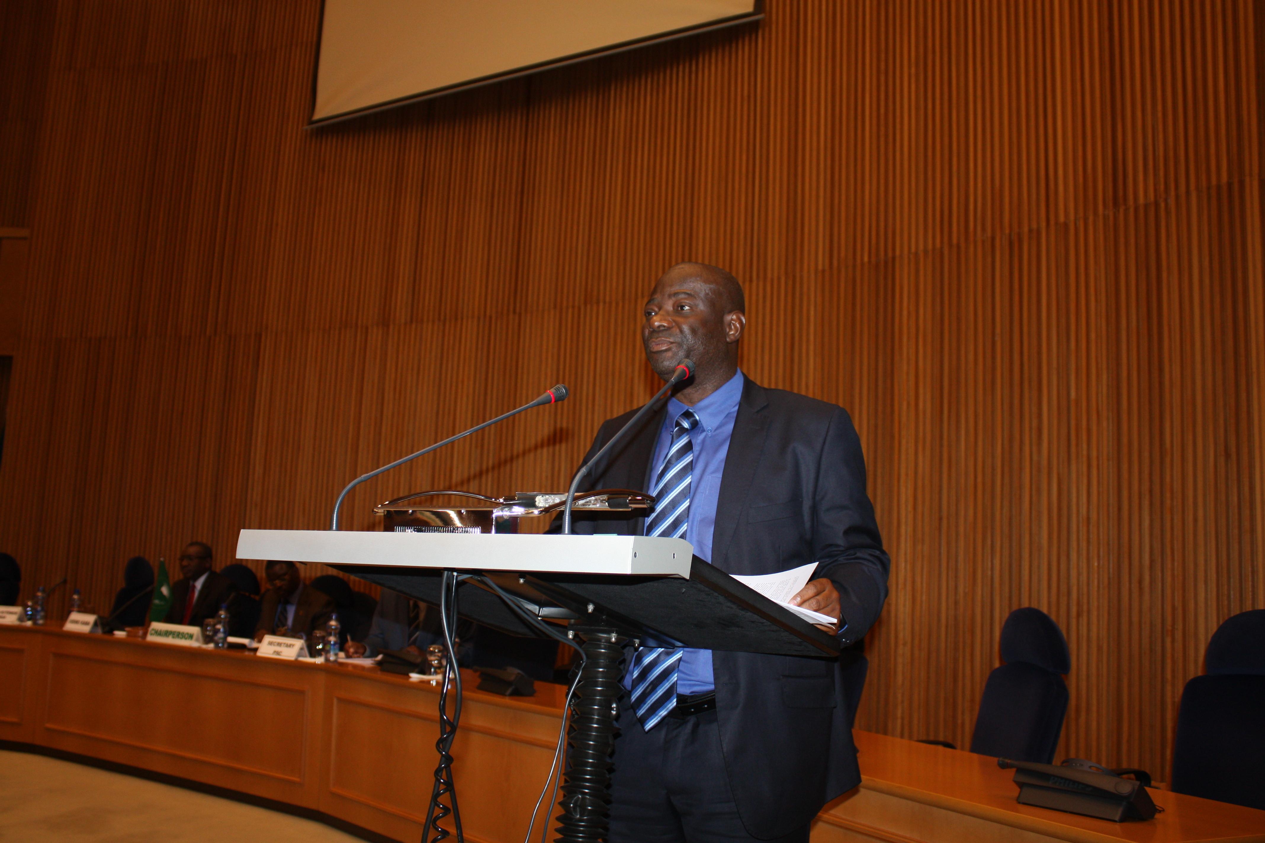 Mr. Dismas Kitenge Senga, Representative of the Malian Association for Human Rights