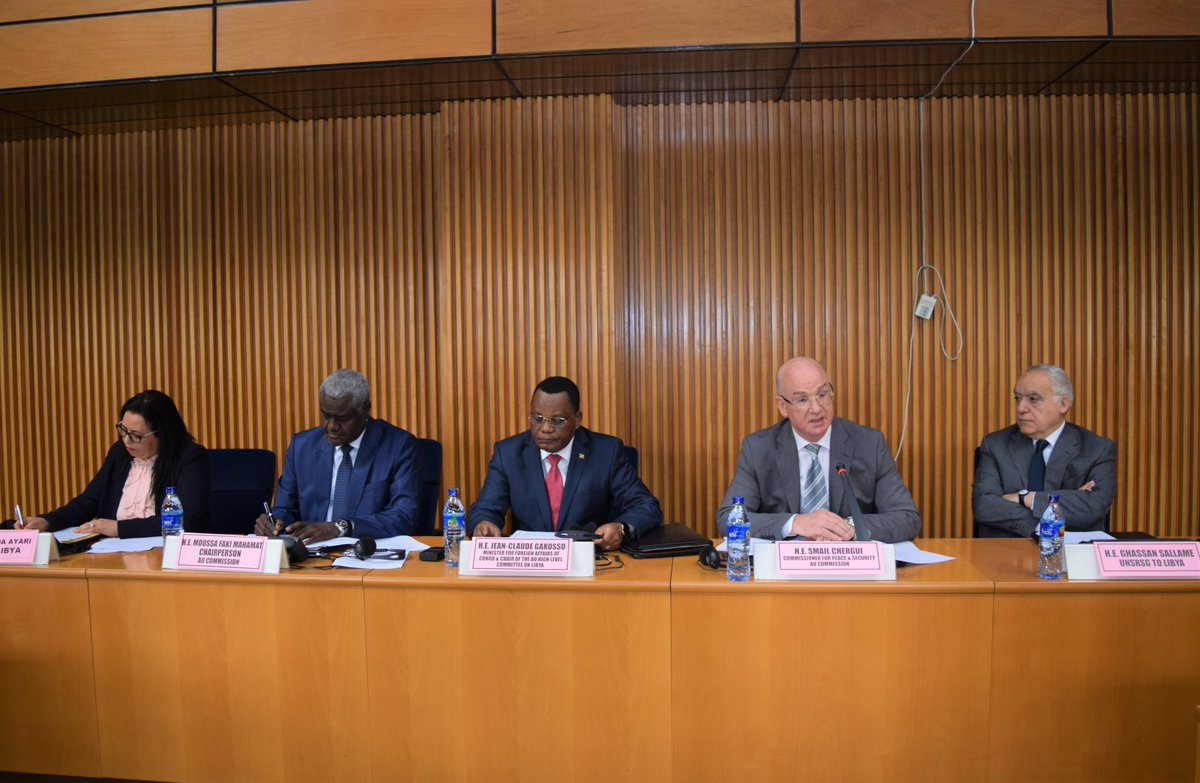 Conclusions of the Fifth Meeting of the AU High Level  Committee on Libya, Addis Ababa, Ethiopia, 17 April 2018