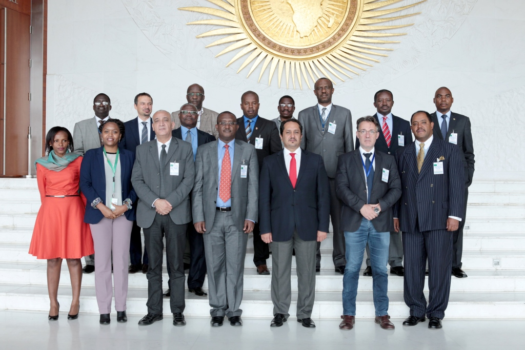 The AU-regions steering committee on SALW & DDR concludes its 5th meeting in Addis Ababa