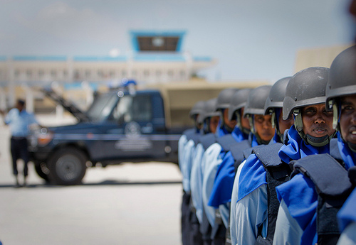 The second AMISOM Formed Police Unit arrives in Mogadishu