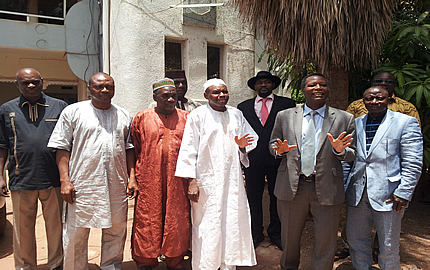 AFISMA Head of Mission meets with Mali's Independent National Electoral Bodies