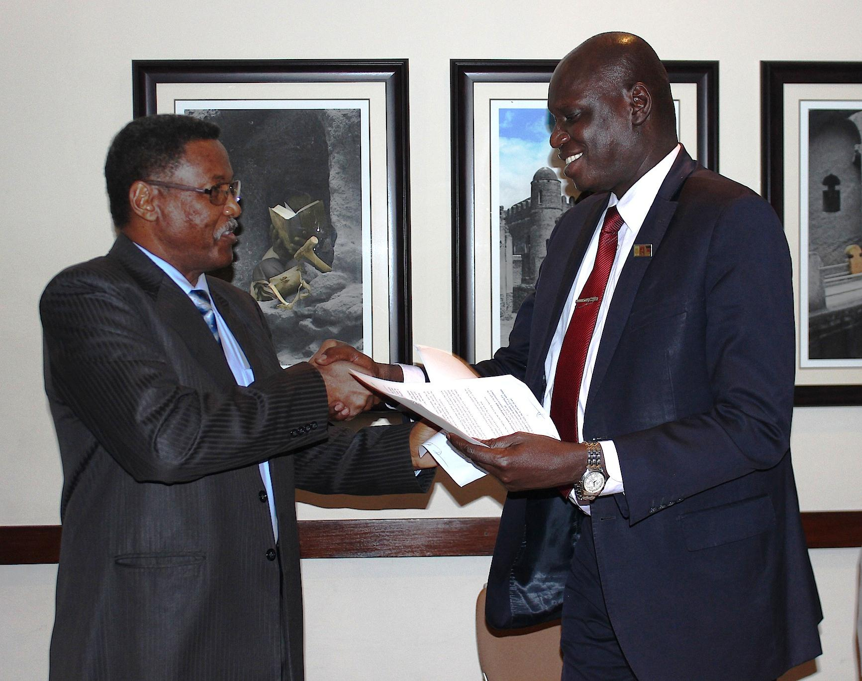 The Abyei Joint Oversight Committee (AJOC) between Sudan & South Sudan reaches Resolutions at its 9th meeting, held in Addis Ababa, 29-30 March 2015