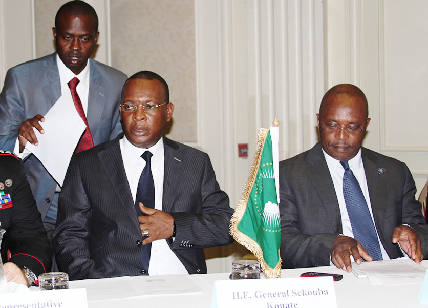#AU High Rep of the Chairperson for #ASF, H.E. General Sékouba #Konaté officially opens AMANI II Main Planning Conference