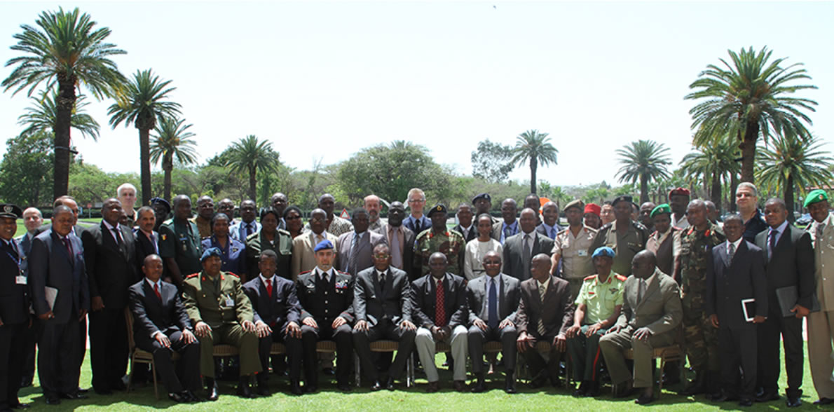 Participants at AMANI II II Main Planning Conference