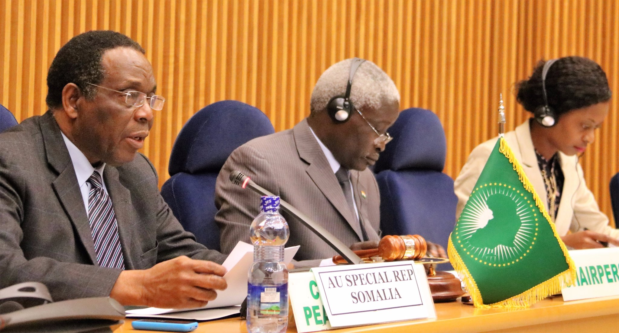 Ambassador Madeira briefs PSC on the state formation process in Somalia
