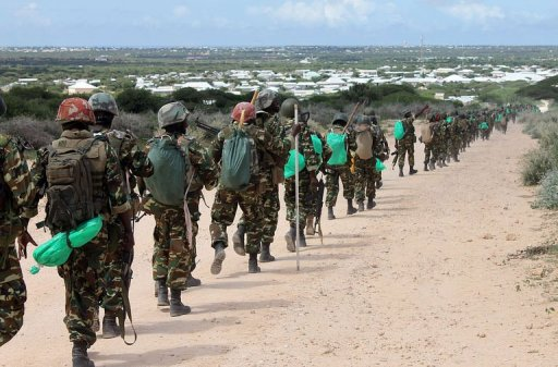 AMISOM, Somali troops recover weapons from Al-Shabaab camp