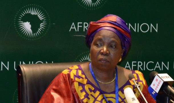 Chairperson of the AUC Dr Nkosazana Dlamini Zuma talking about her visit to Mali for a meeting of the Support and Follow-up Group on Mali scheduled to be held in Bamako on 19 October 2012