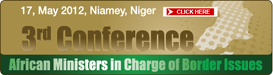 The third Conference of the African Ministers in Charge of Border Issues