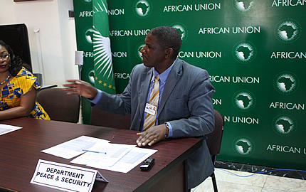 Students from the University of Toronto briefed on the AU's Peace and Security Efforts