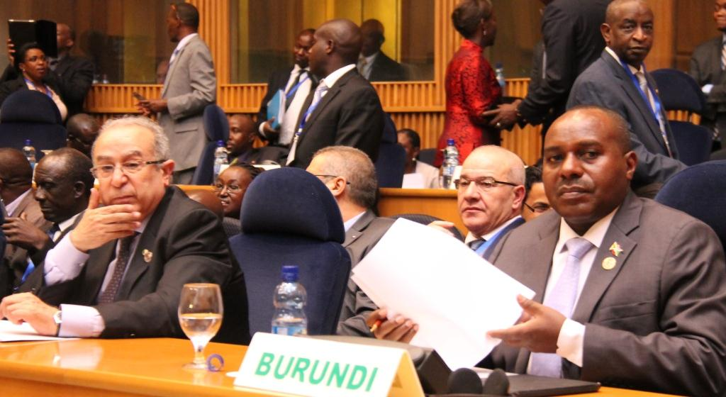 Communiqué of the 571st meeting of the PSC, at the level of Heads of State and Government, on the situation in Burundi