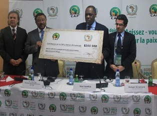 Joint press release: CAF donates US$200,000 to the AU towards alleviating the plight of the victims of drought and famine in the horn of Africa