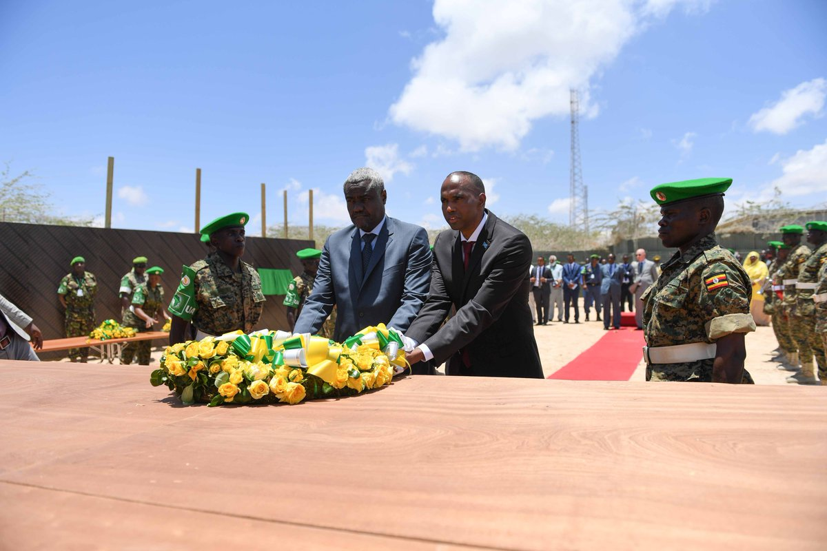 African Union Commission Chairperson pays first official visit to Somalia: Calls for greater solidarity with Somalia in addressing the Humanitarian Crisis