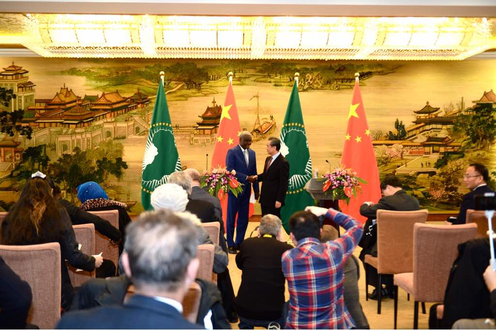 Communiqué on the visit of the African Union Commission Chairperson to the People's Republic of China (8-9 February 2018)