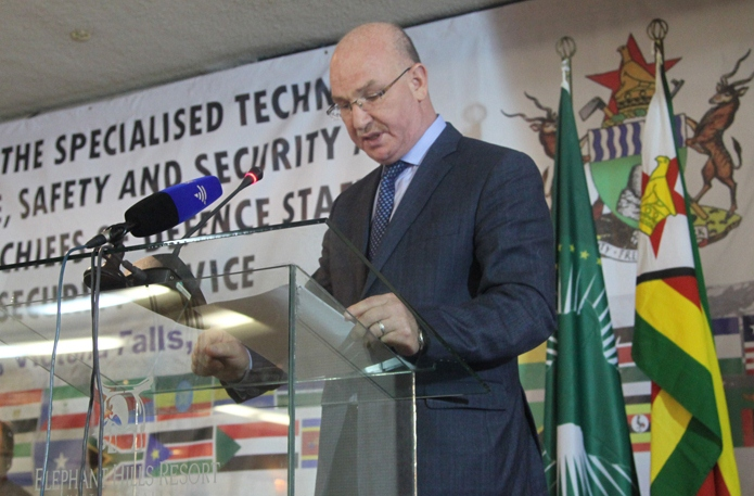 Statement of H.E Ambassador Smail Chergui, AU Commissioner for Peace and Security at the Opening of the Eighth Specialized Technical Committee on Defense, Safety and Security Victoria Falls, Zimbabwe, 15 May 2015